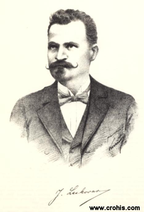 Janko Leskovar (1861. – 1949.), učitelj i književnik. Utemeljitelj moderne hrvatske psihološke proze.