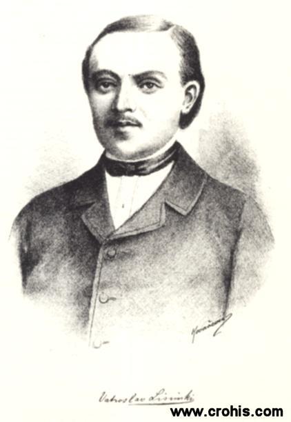 Vatroslav Lisinski (1819. – 1854.), skladatelj. Autor prve moderne hrvatske opere.