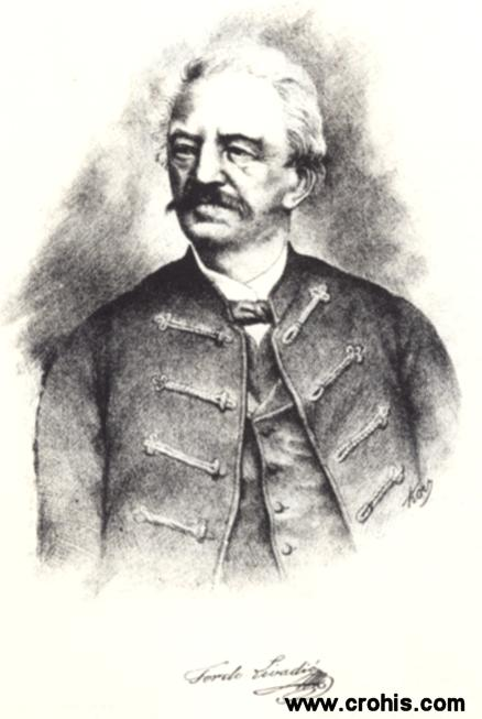 Ferdo Livadić (1799. - 1879.) prvi moderni hrvatski skladatelj,