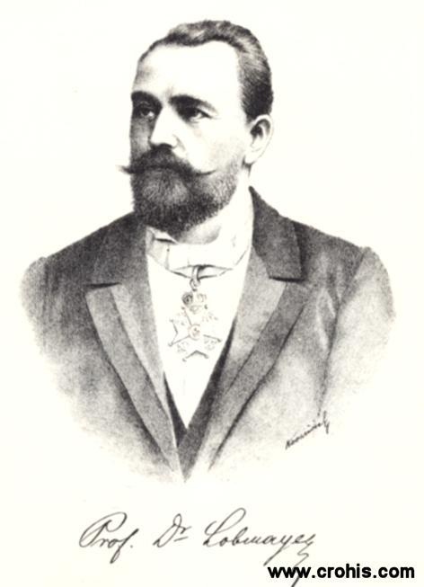 Antun Lobmayer (1844. - 1906.), liječnik, političar i književnik. Utemeljitelj moderne pedijatrije i porodništva u Hrvatskoj. Prosvjetitelj širokih slojeva na području zdravstva.