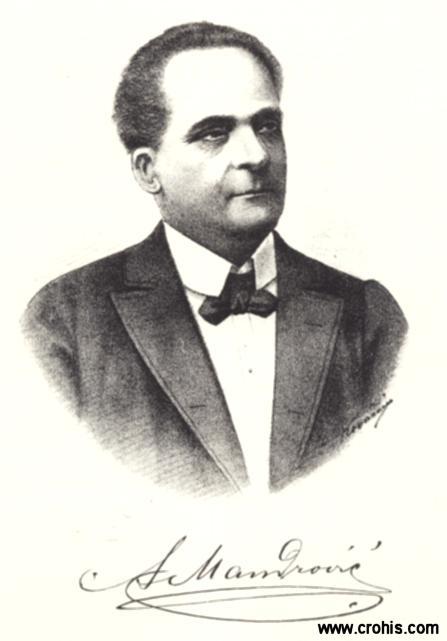 Adam Mandrović (1839. – 1912.), glumac, redatelj i kazališni pedagog.