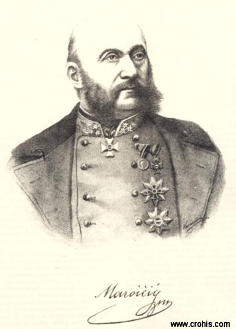 Josip Maroičić (1812. – 1882.), austrijski general topništva. Istaknuo se u borbama protiv talijanskih revolucionara 1848., a posebno u velikoj pobjedi austrijske vojske nad talijanskom kod Custozze 1866.