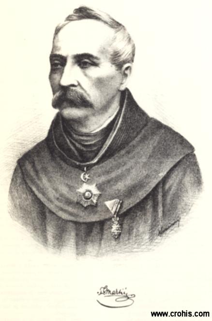 Grga Martić (1822. – 1905.), franjevac i književnik. Istaknuti preporoditelj Hrvata u Bosni i Hercegovini.