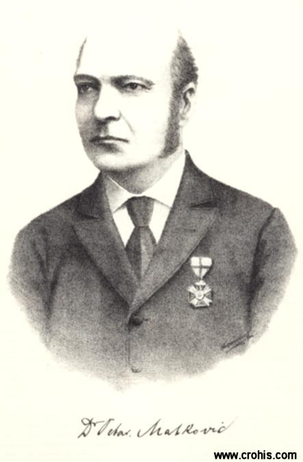 Petar Matković (1830. – 1898.), geograf i statističar. Jedan od osnivača Statističkog ureda Hrvatske i Slavonije.