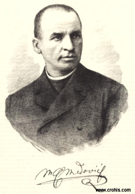 Celestin Medović (1857. – 1920.), slikar. Istaknuti slikar povijesnih kompozicija, religioznih tema i krajolika.