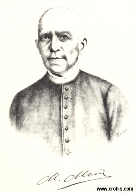 Matija Mesić (1826. – 1878.), povjesničar. Posebno se istaknuo istraživanjem hrvatske povijesti kasnog srednjeg vijeka.