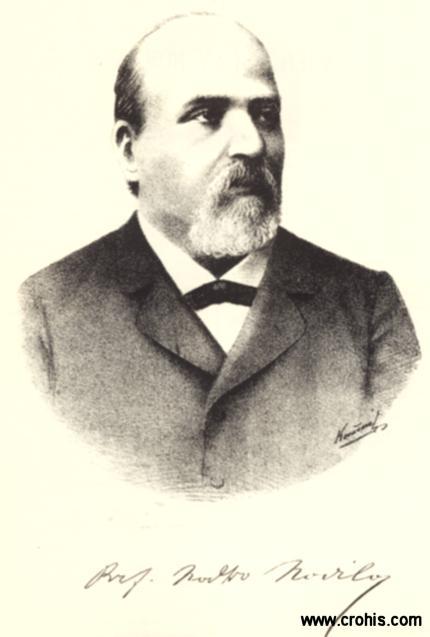 Natko Nodilo (1834. – 1912.), povjesničar, političar i preporoditelj Hrvata u Dalmaciji. Zastupnik u Dalmatinskom saboru i profesor na Filozofskom fakultetu u Zagrebu.