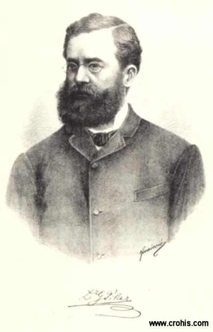 Gjuro Pilar (1846. – 1893.), istaknuti geolog i sveučilišni profesor.