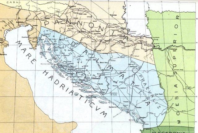 Panonija i Dalmacija u doba rimskog carstva