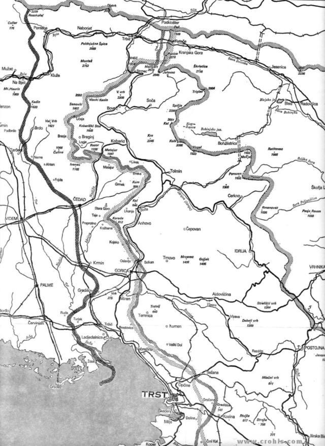 Britanska, američka i sovjetska linija 1. dio