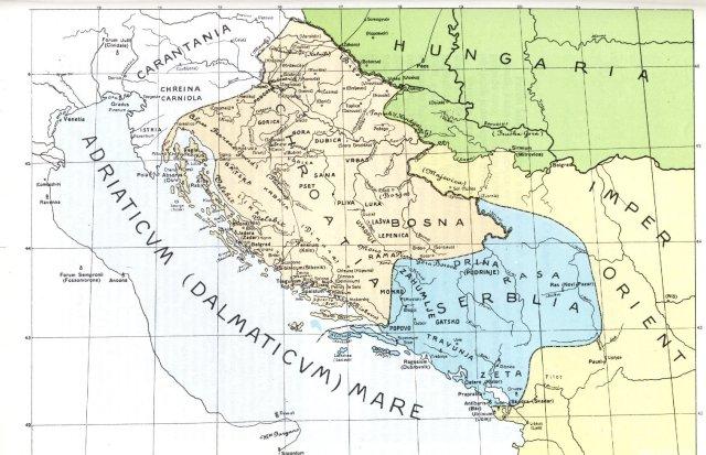 Hrvatska i Srbija oko 1070.