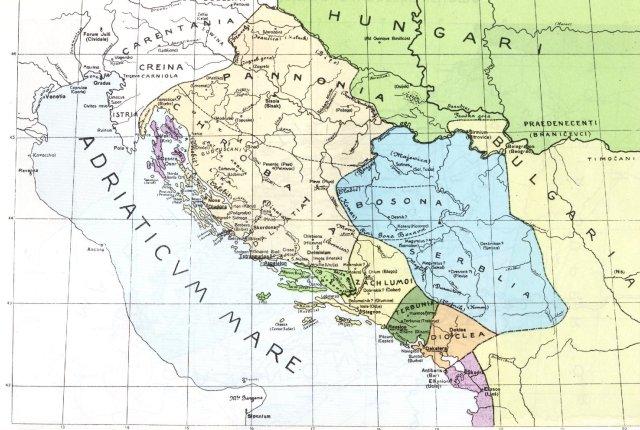 Hrvatska i susjedne zemlje oko 950.
