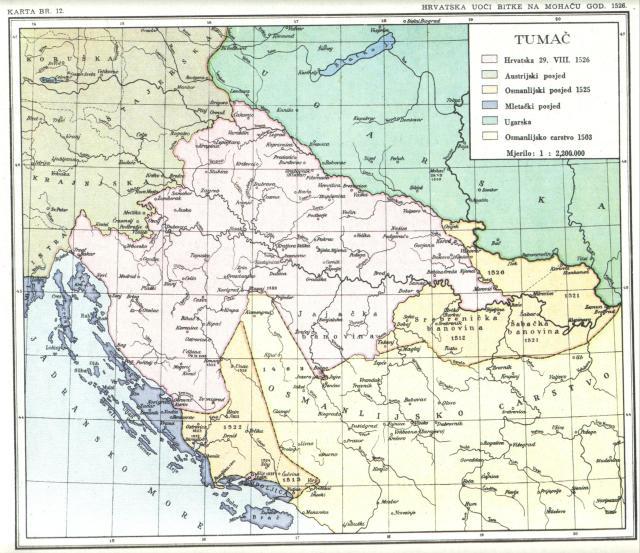 Hrvatska uoči bitke na Mohaču 1526.