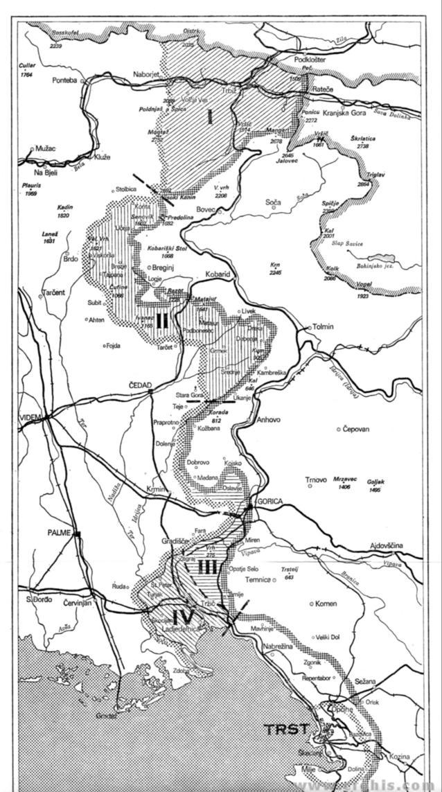 Granice Jugoslavenske delegacije i Savjeta ministara 1. dio