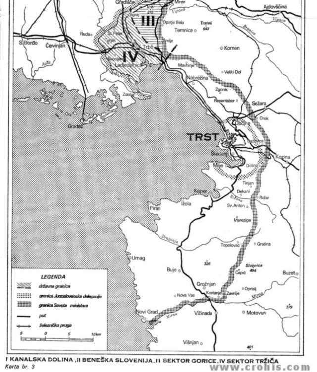 Granice Jugoslavenske delegacije i Savjeta ministara 2. dio