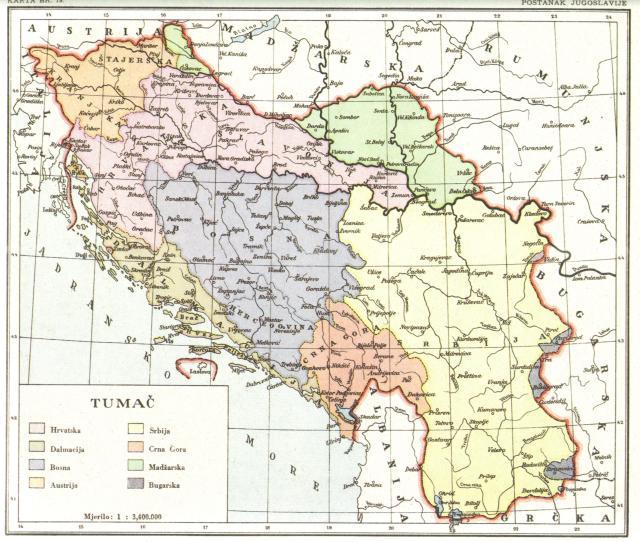 Postanak Jugoslavije