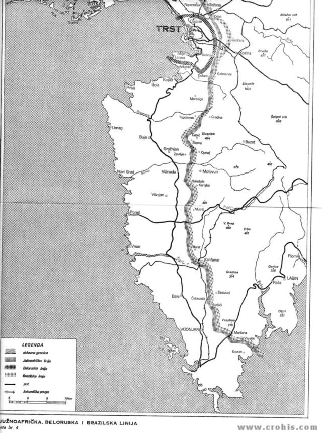 Južnoafrička, bjeloruska i brazilska linija 2. dio