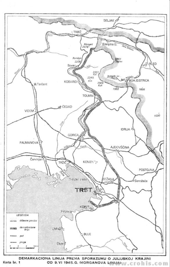 Morganova linija (demarkaciona linija od 9. 6. 1945.)