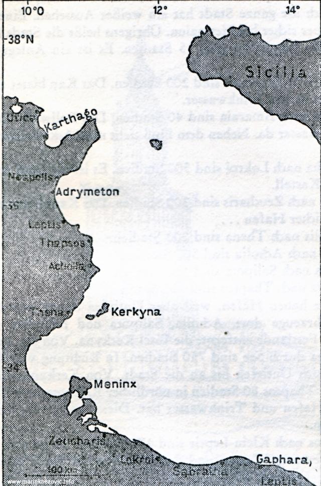 Sjevernoafrička obala od Leptisa do Kartage