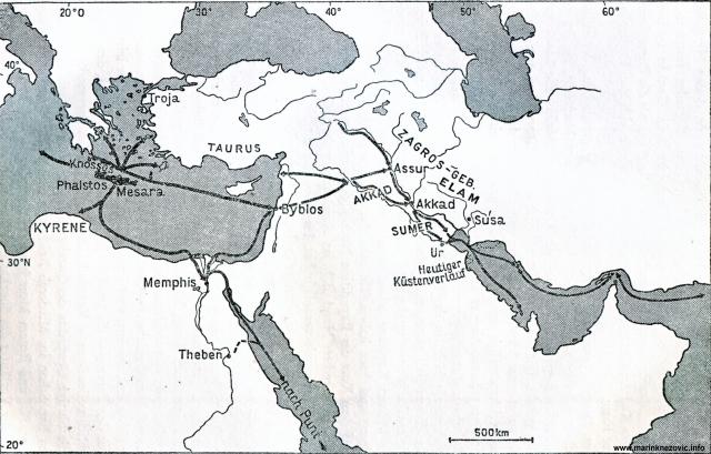 Trgovački putovi visokih kultura starog vijeka