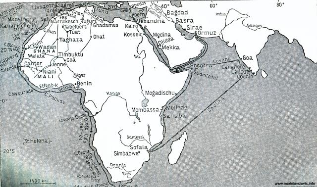 Istraživačka putovanja Portugalaca u Africi.