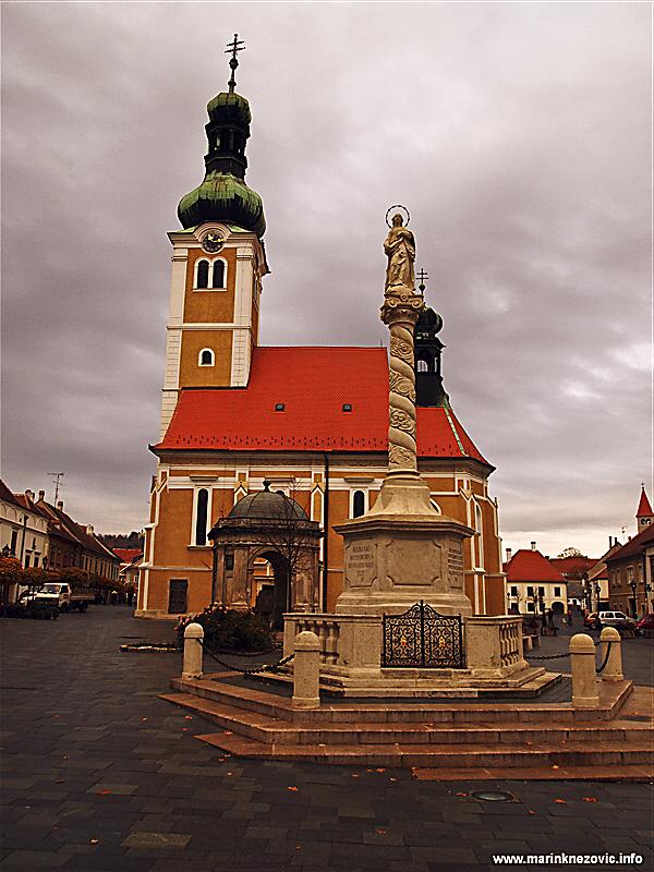 Crkva sv. Emerika i Marijin stup