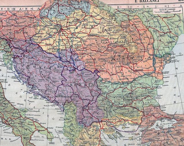Balkan i srednja Europa