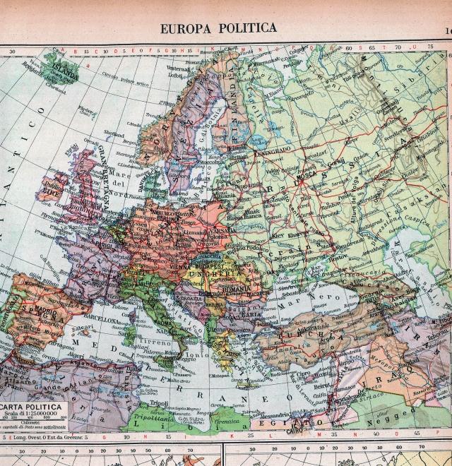 Politička karta Europe