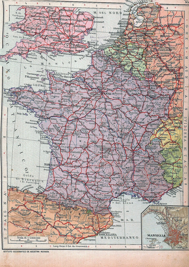 Francuska, Belgija i Luxemburg