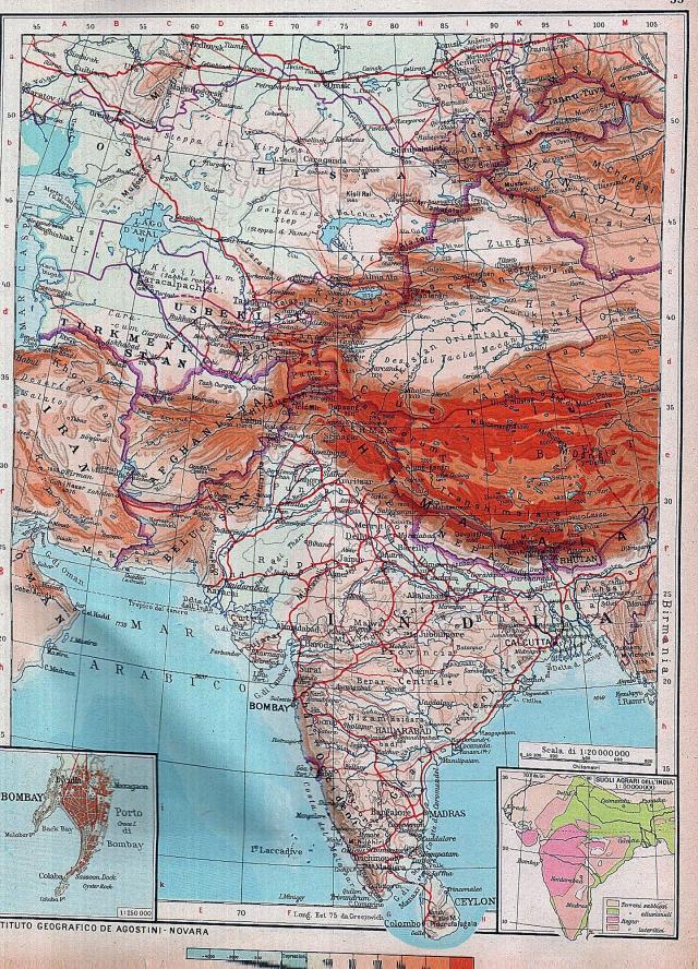 Središnja Azija i Indija