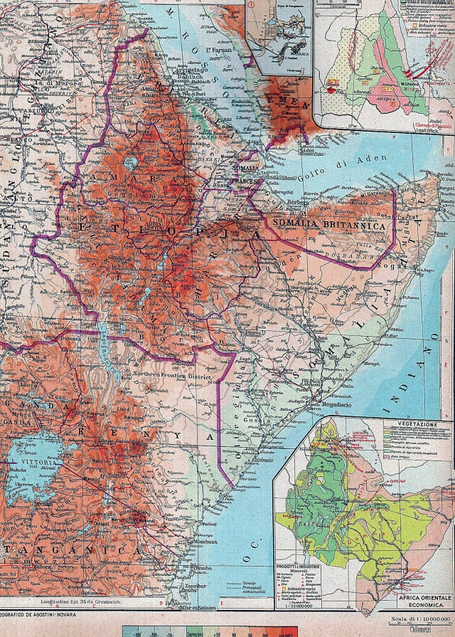 Talijanska istočna Afrika