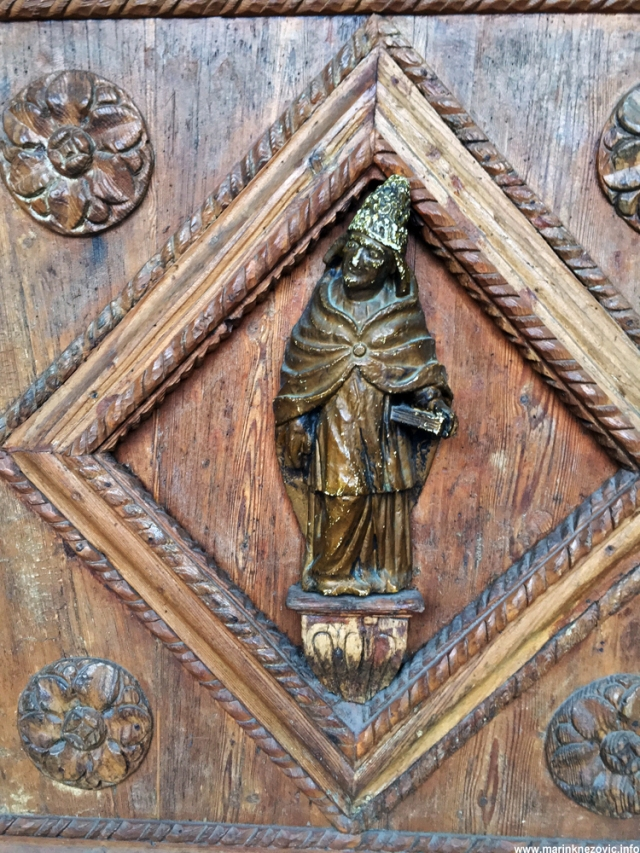 Katedrala sv. Tripuna, detalj