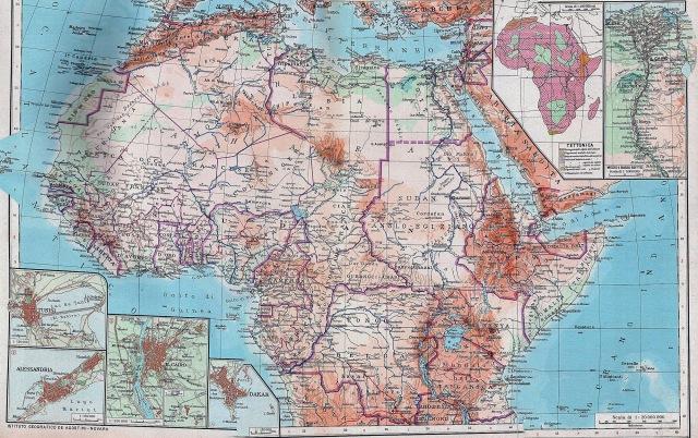 Sjeverna i središnja Afrika