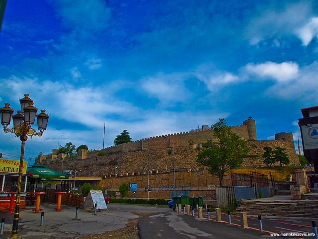 Skopje, gradska utvrda - Kale