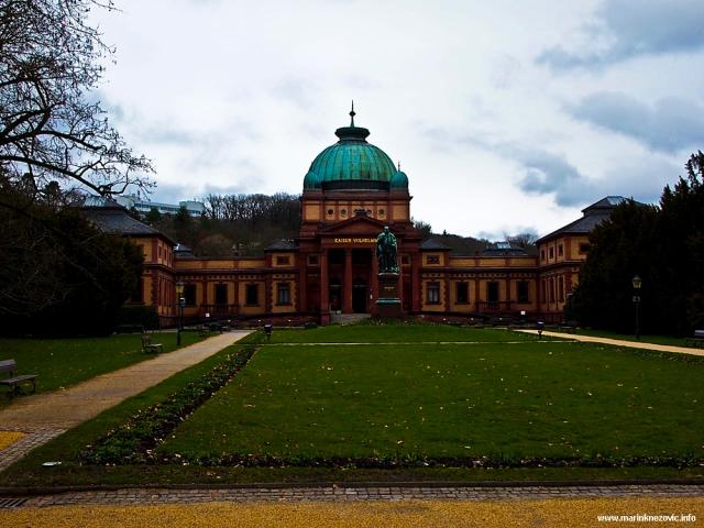 Paviljon toplica posvećen njemačkom caru Wilhelmu II.