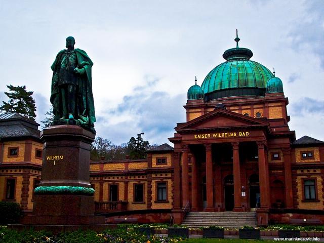 Paviljon toplica posvećen njemačkom caru Wilhelmu I.