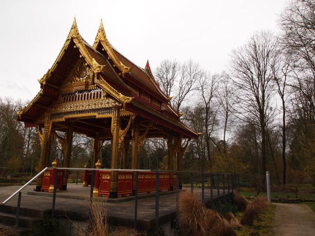 Novi tajlandski (sijamski) hram