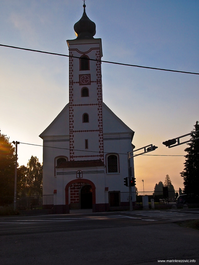 Vukovina - crkva Pohoda Blažene Djevice Marije