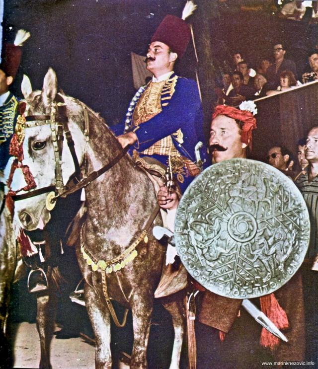 Pobjednik Sinjske alke 1964. Joško Milošević i njegov momak Lujo Varenina