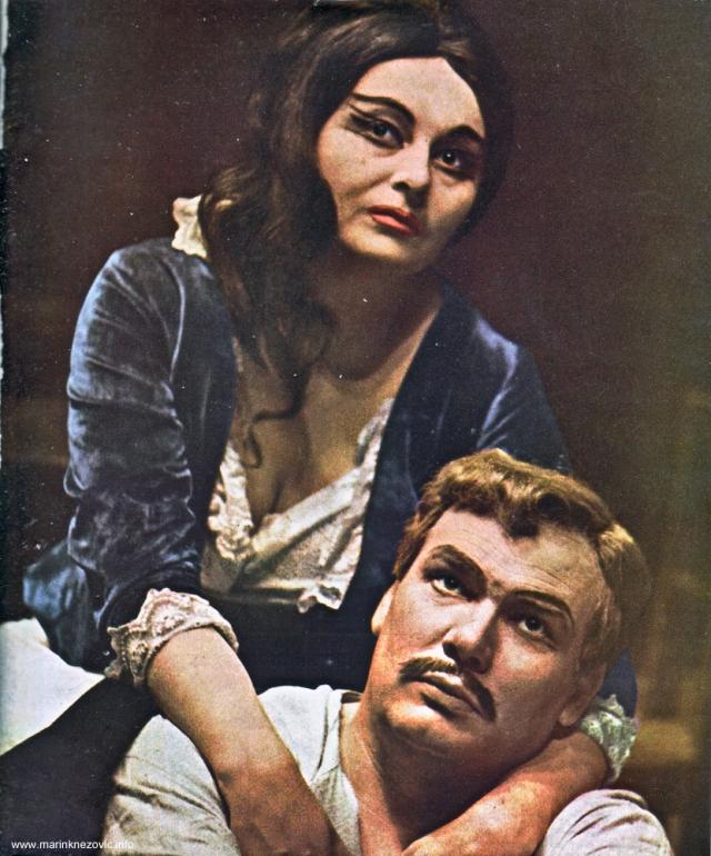Operni pjevači Mirka Klarić i Piero Filippi
