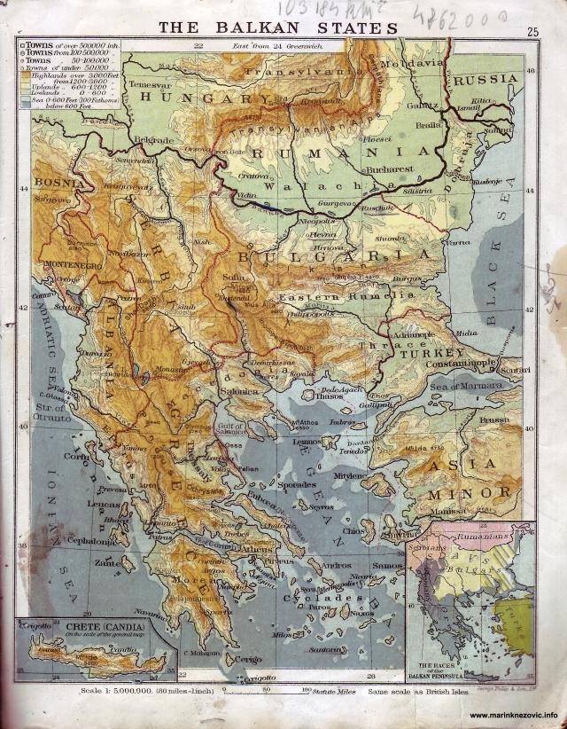 Balkanske države/ The Balkan States