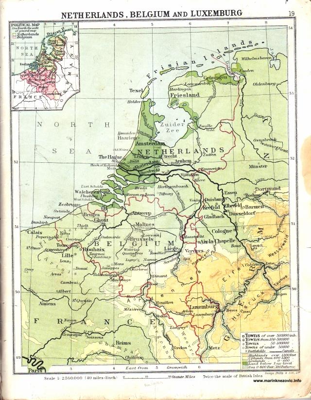 Nizozemska, Belgija i Luxemburg / Netherlands; Belgium and Luxemburg