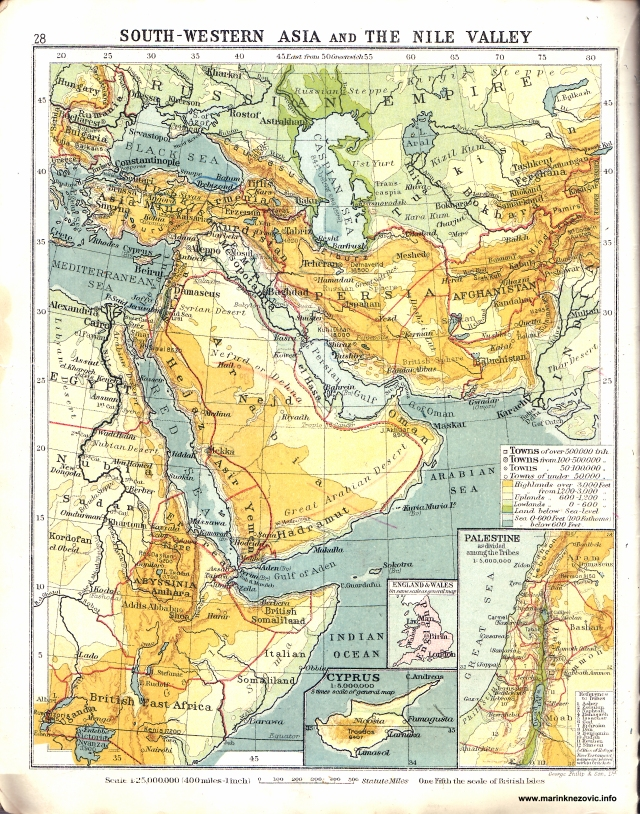 Jugozapadna Azija i dolina Nila/South-Wastern Asia and the Nile Valley