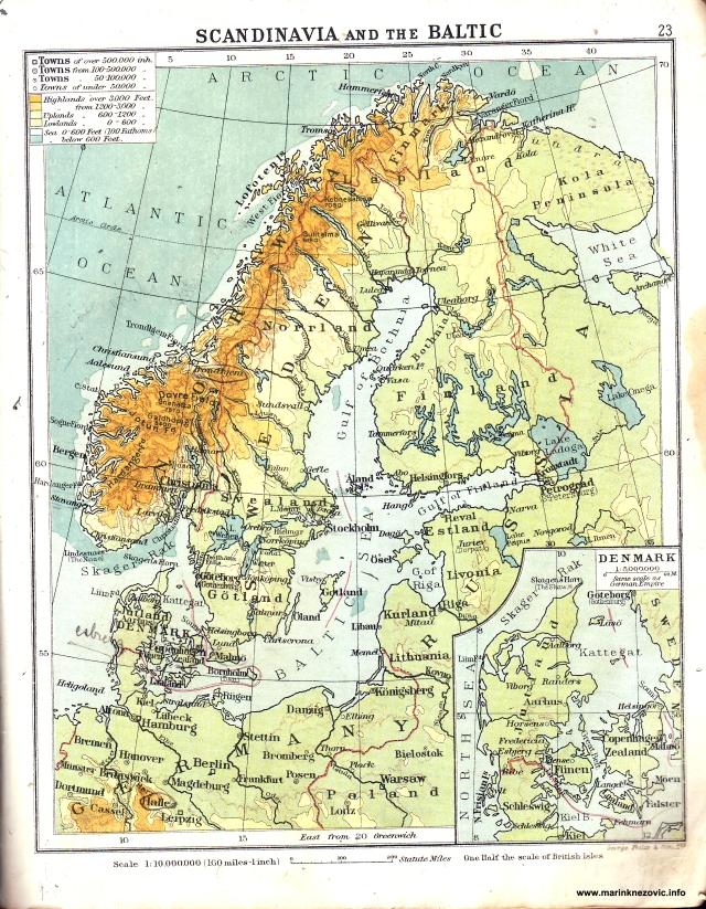 Skandinavija i Baltik / Scandinavia and Baltic