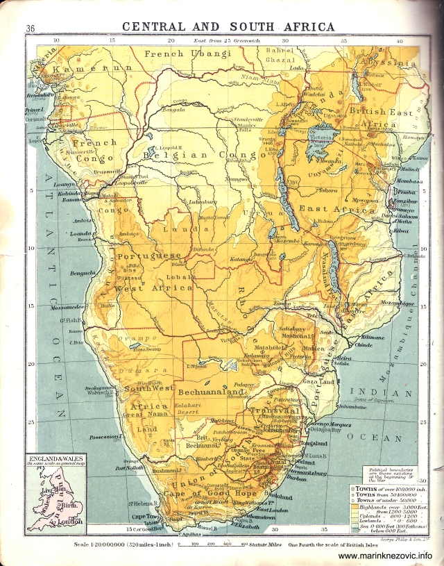 Središnja i južna Afrika / Central and South Africa