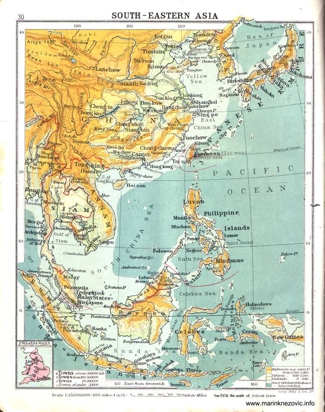 Jugoistočna Azija / South - Eastern Asia