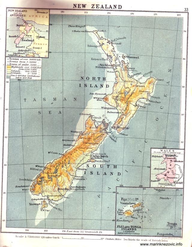 Novi Zeland / New Zealand
