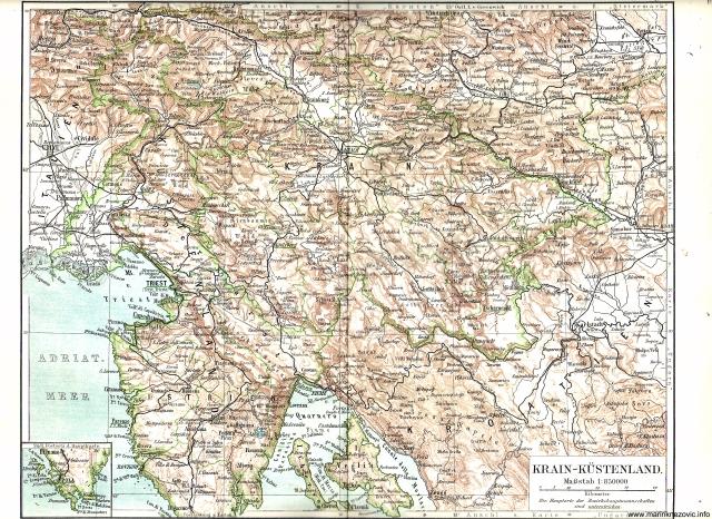Kranjska i Primorje / Krain - Küstenland