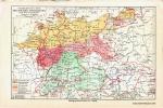 Proširenost njemačkih narječja / Verbreitung der deutschen Mundarten