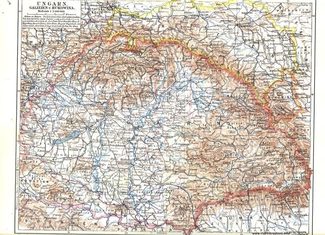 Ugarska, Galicija i Bukovina / Ungarn, Galizien und Bukowina